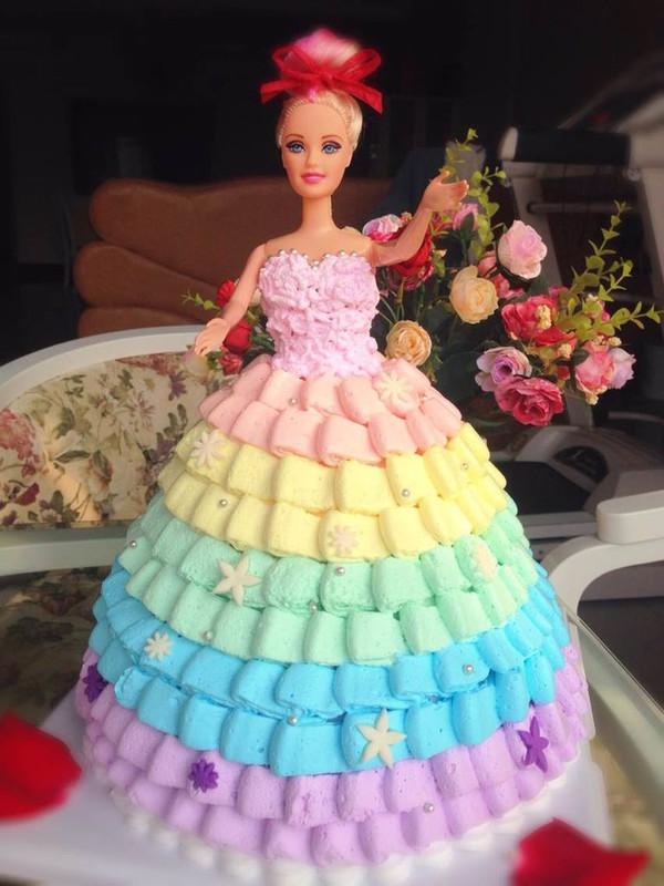 蛋糕裙子手绘图片