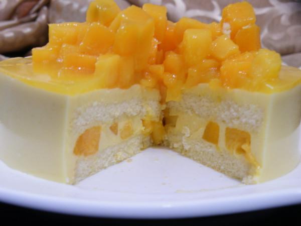 芒果慕斯蛋糕 芒果慕斯图片