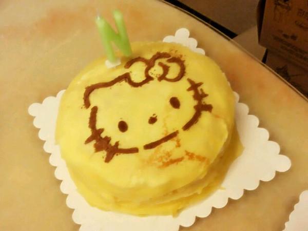 千层榴莲蛋糕(手绘涂鸦)