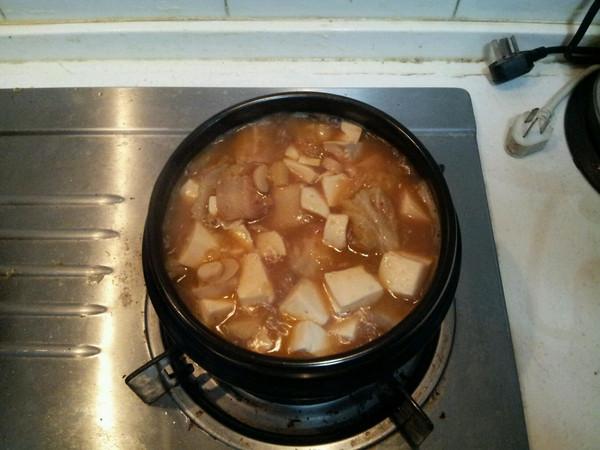 馨雨tina做的韩式泡菜豆腐汤的做法 豆果美食