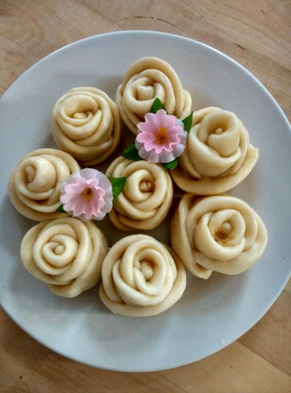 小丽儿儿的玫瑰花花卷做法的学习成果照