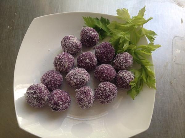 静雅小筑做的奶香蜂蜜紫薯球的做法
