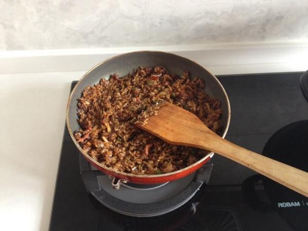 minniel做的牛肉炒饭的做法