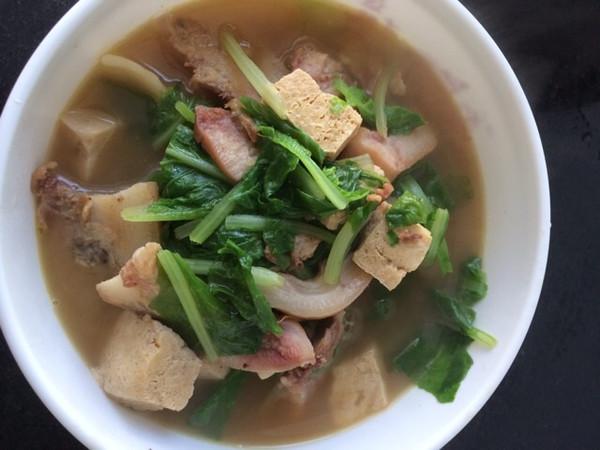 莲汐做的白菜豆腐的做法