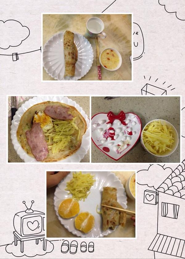 琥珀痕迹0526的儿童早餐做法的学习成果照