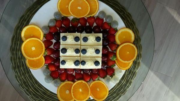 俺咿呀的果拼蛋糕做法的学习成果照