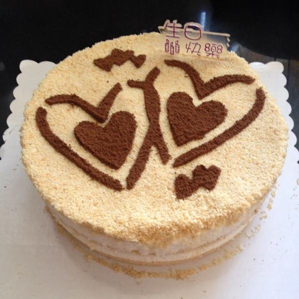 月影沙湫做的木糠蛋糕的做法