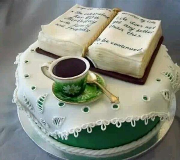 """有一种美 叫不忍下箸 ~此蛋糕诠释""""书山学海"""""""
