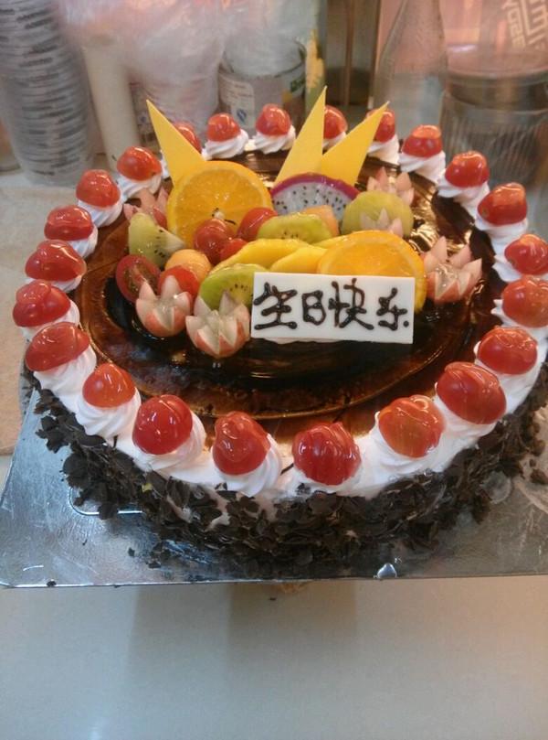 果籽狸做的欧式蛋糕的做法