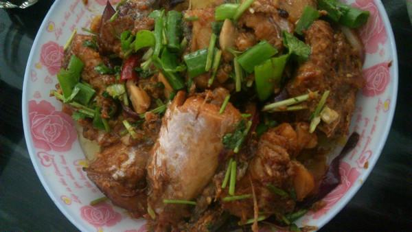 在家做韩式料理---韩味炖鳕鱼图片