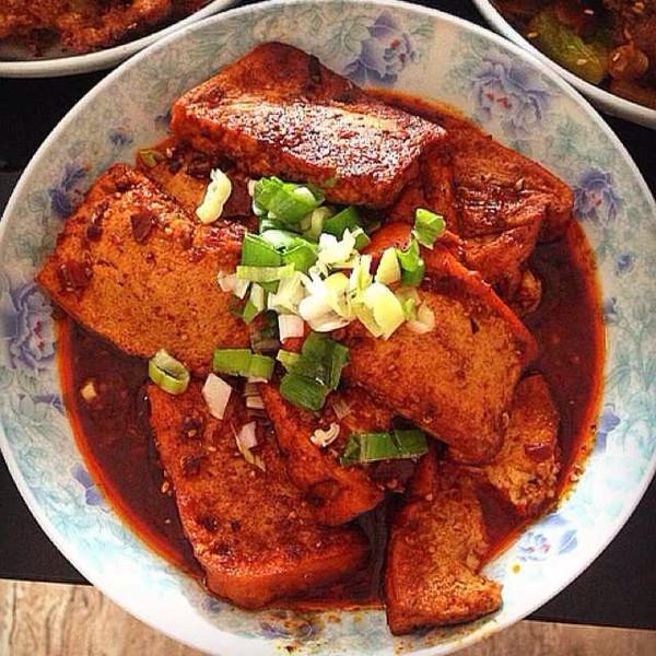 青做的湘版麻婆豆腐的做法 豆果美食