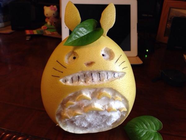 柚子图片可爱造型图片