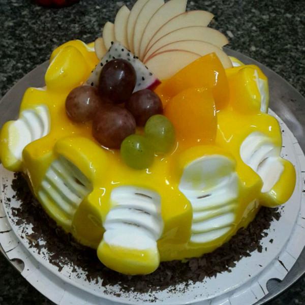陌小尾做的欧式蛋糕的做法
