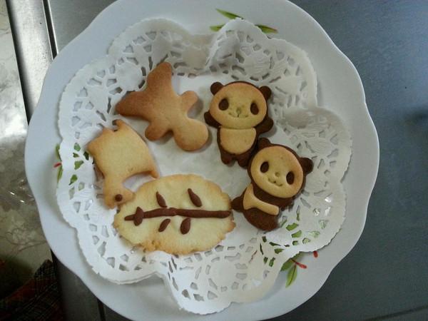 haochilaojj的超萌熊猫饼干做法的学习成果照