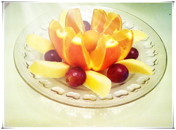 monica食尚煮易的水果拼盘做法的学习成果照