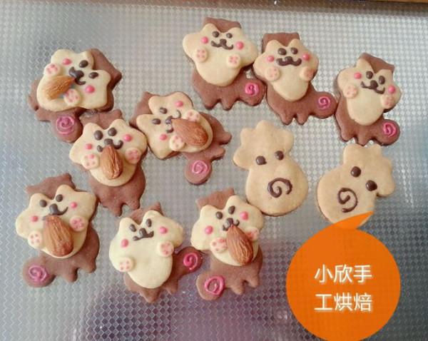 妞妞430的萌萌哒小动物饼干做法的学习成果照