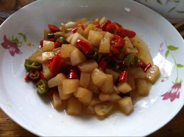 酸辣椒的腌制方法图解