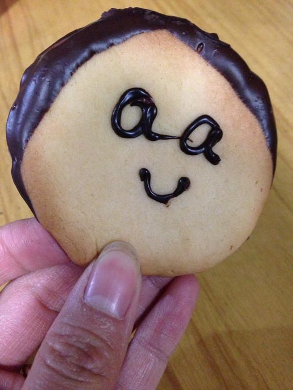 可爱的表情饼干,自己做的怎么吃都好吃!