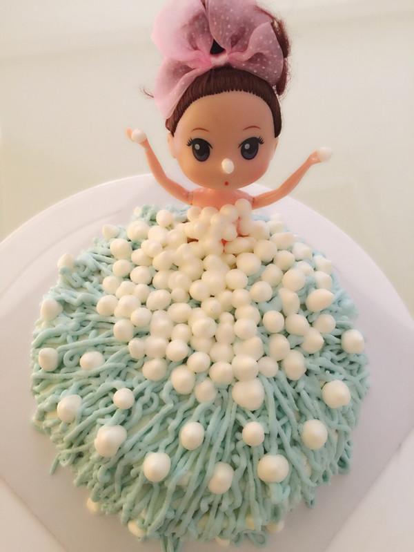 玛奇朵yaoyao的芭比娃娃蛋糕做法的学习成果照