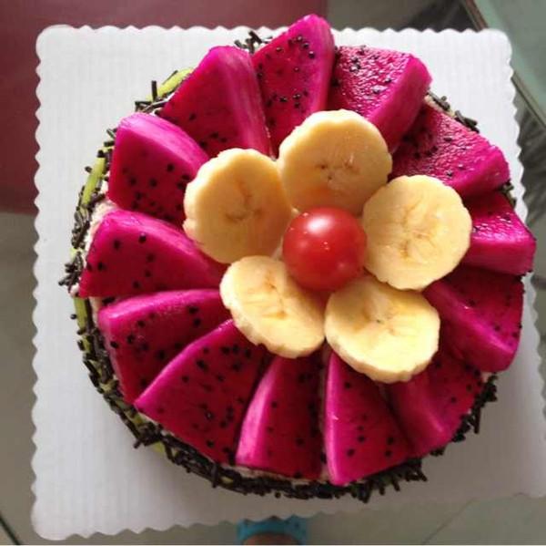 刀马旦2005做的水果生日蛋糕的做法