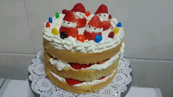 小雪人裸蛋糕