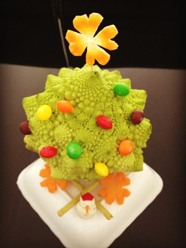 申嫂做的水果圣诞树的做法