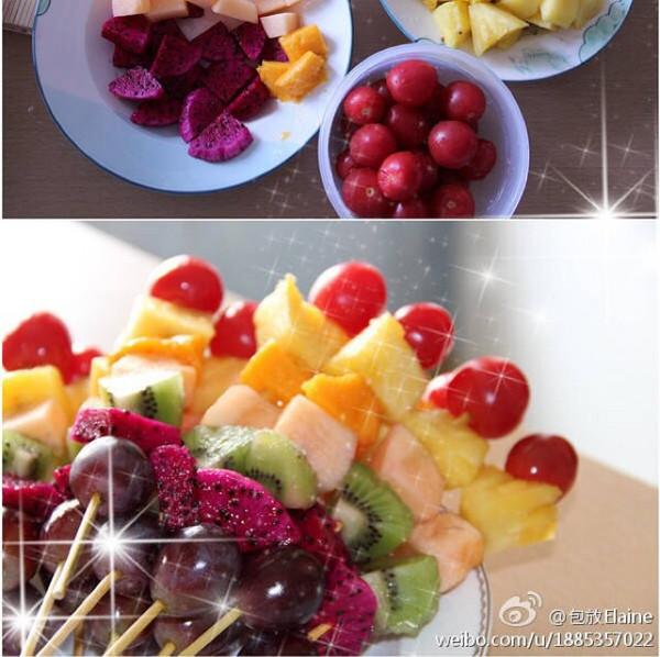 夏日水果串