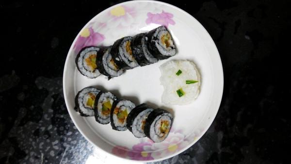 做的寿司猫咪的做法