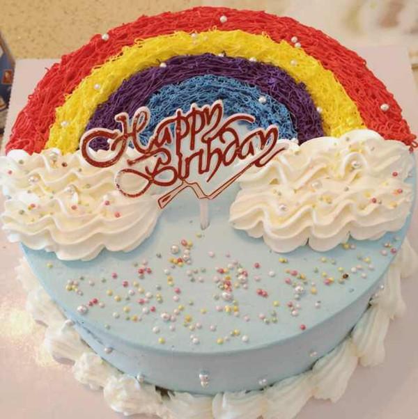 ɑ囍γ做的生日蛋糕的做法