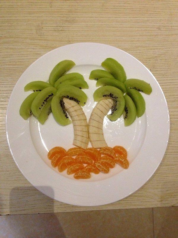 荷色生香做的水果盘的做法