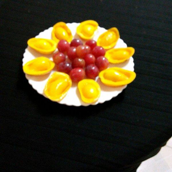 玉莹2323的水果拼盘做法的学习成果照