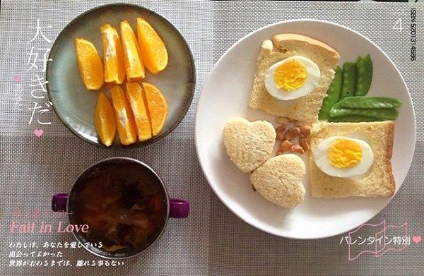 铵哥baby的宝宝童趣早餐做法的学习成果照
