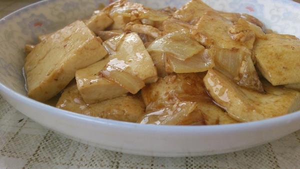 兔兔暧布丁做的家常炒豆腐的做法 豆果美食