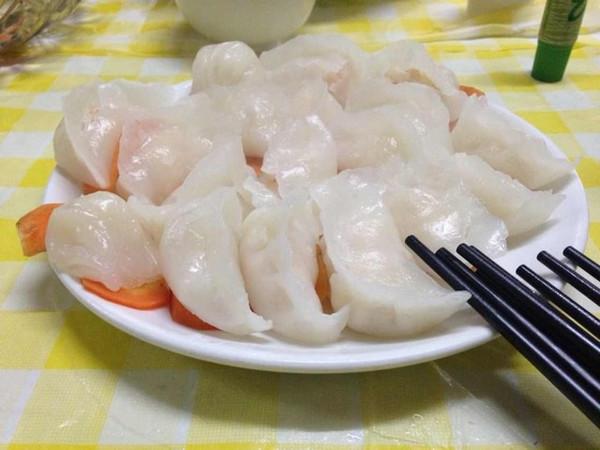 那谁家小谁0的港式水晶虾饺做法的学习成果照
