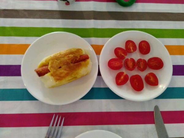 橙子先生爱吃橘子的【每日签到】秀早餐做法的学习照
