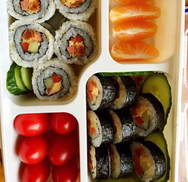 寿司水果便当