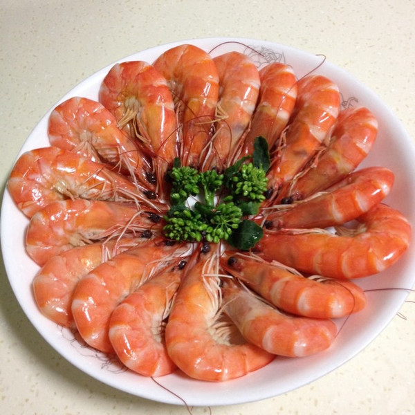 虾外观结构图