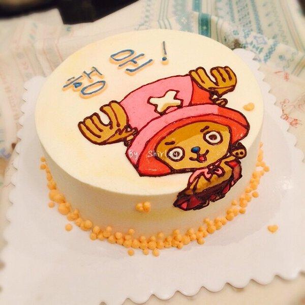 3d手绘蛋糕