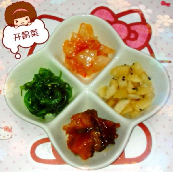 桃李芬芳3的开胃小菜做法的学习成果照