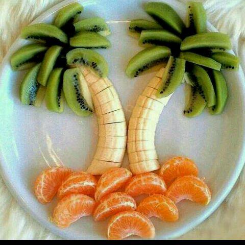 非常控的水果拼盘做法的学习成果照