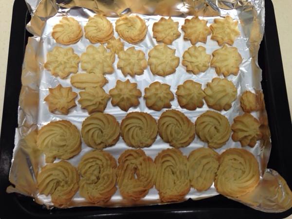 s62l07的曲奇饼干的做法(烤箱做曲奇)做法的学习照