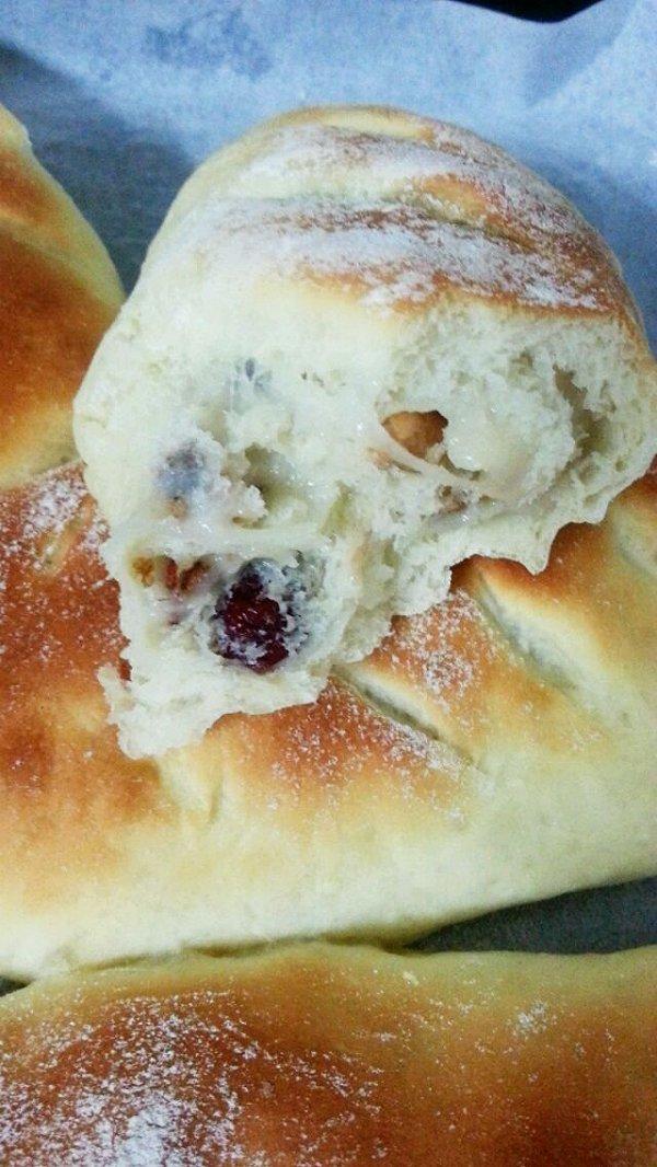 麻薯夹心欧式面包的做法