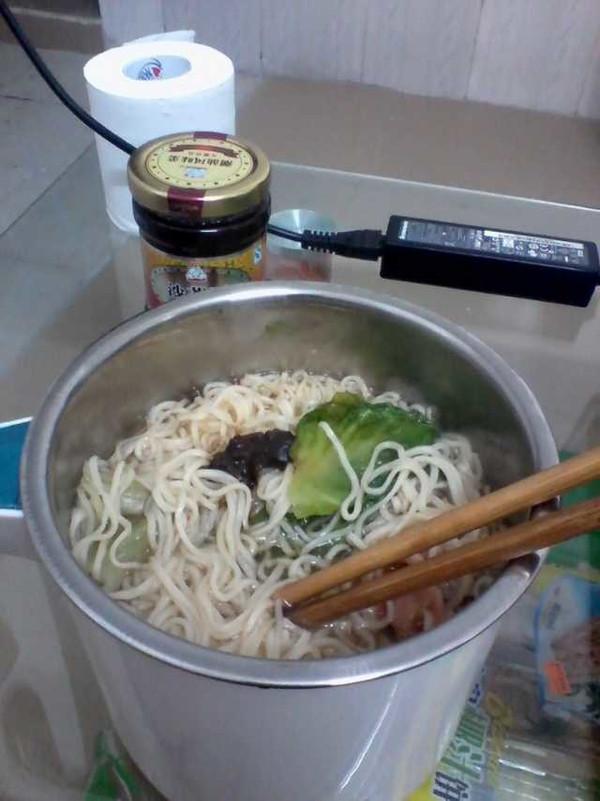 煮方便面步骤图片