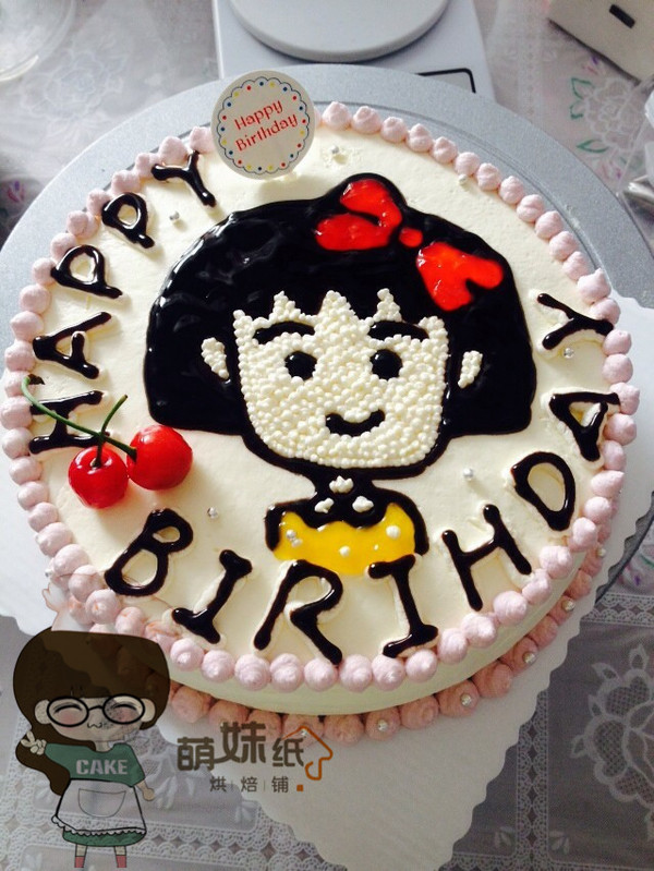 戚风蛋糕(8寸)——奶油生日蛋糕的一条龙做法的做法