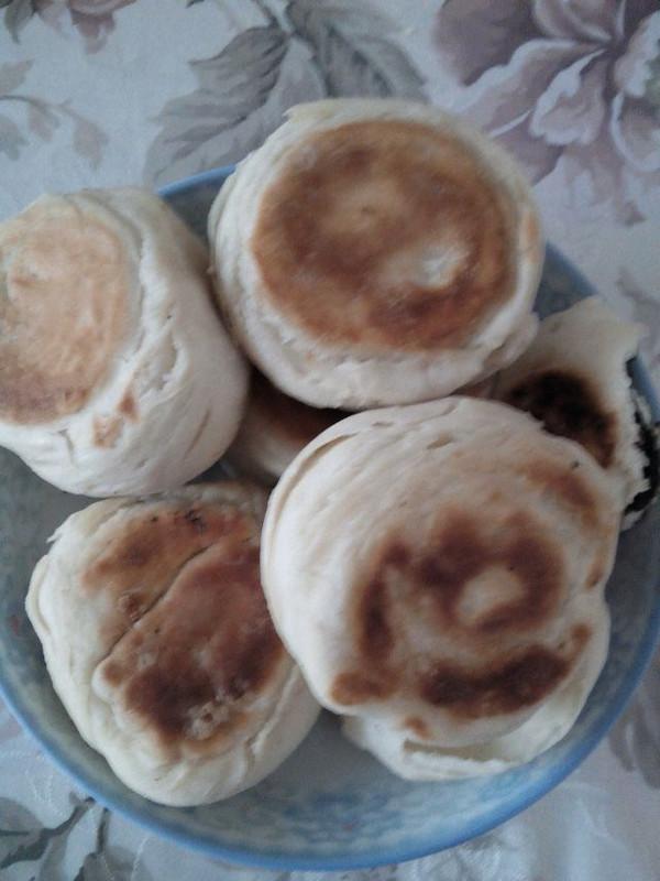 就是俺的电饭锅烙发面饼做法的学习成果照 豆果美食图片
