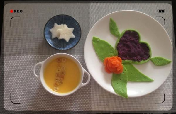 铵哥baby的宝宝创意营养童趣早餐做法的学习成果照图片