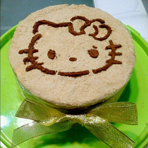胖胖桔做的木糠蛋糕的做法