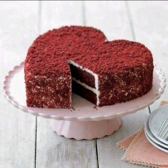 爱心巧克力蛋糕,母亲节送给我那亲爱的妈妈,动手做出来的比较有意义哦