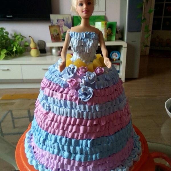 比生日蛋糕的做法