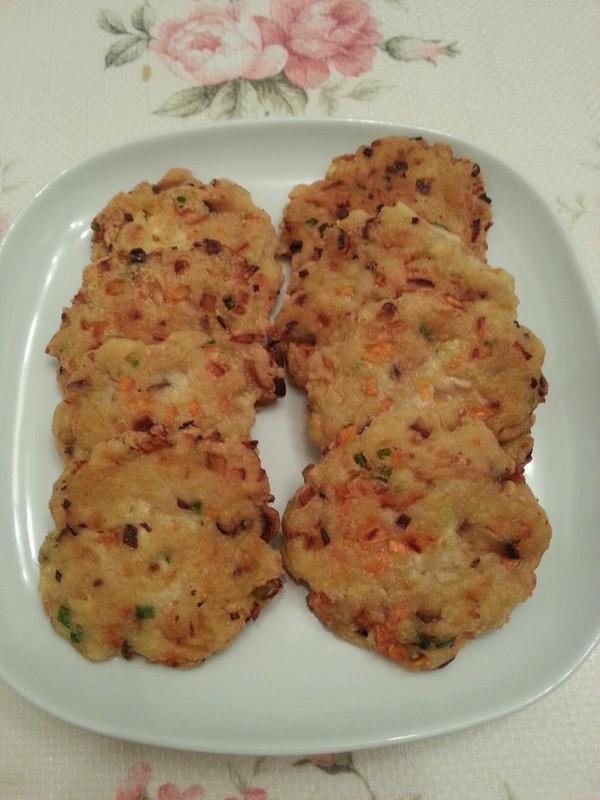 Tina sky做的豆腐饼的做法 豆果美食